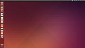 Tela inicial do Ubuntu